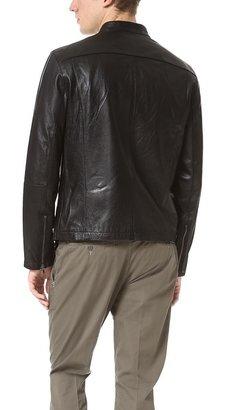 John Varvatos Moto Leather Jacket