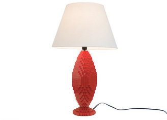 Lafayette Sean Kenney Sculpture Lamp Red