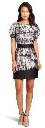 Suzi Chin Women's Print Dress