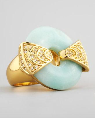 Rachel Zoe Amazonite & Crystal Statement Ring
