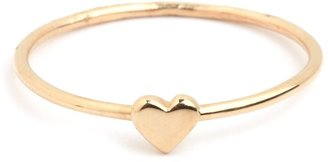 BaubleBar Gold Heart Ring (MADE TO ORDER: SHIPS IN TWO WEEKS)
