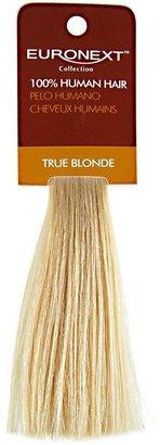 Euronext Clip In Platinum Blonde Human Hair Swatch