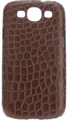 Samsung Maison Takuya crocodile Galaxy III phone case