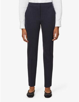 Max Mara Pegno slim-leg cropped trousers