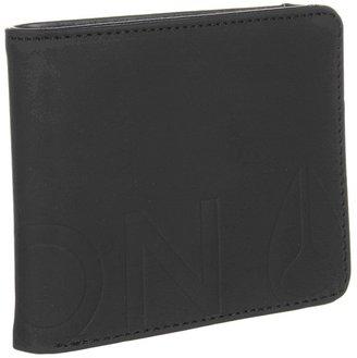Nixon Rubber Big Bill Fuller Bi-Fold Coin Wallet (Black) - Bags and Luggage
