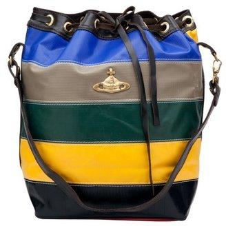 Vivienne Westwood Stripe Bucket Bag