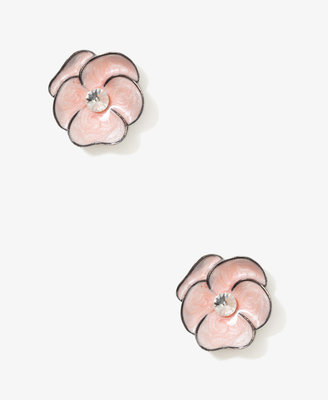 Forever 21 Lacquered Flower Studs