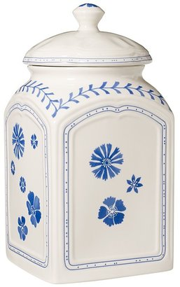 Villeroy & Boch Farmhouse Touch Blue Flowers Large Canister