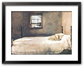 "Art.com Master Bedroom"" Framed Art Print by Andrew Wyeth"