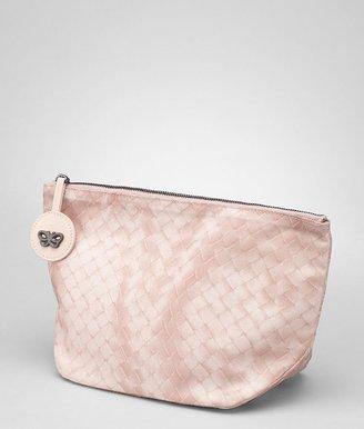 Bottega Veneta Petale intrecciolusion cosmetic case