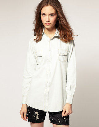 Surface to Air Western Chambray Shirt