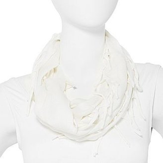 JCPenney Far-Out Fringe Jersey Scarf
