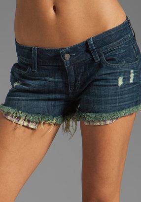Siwy Mandeleine Cut-Off Short w/ Exposed Pockets