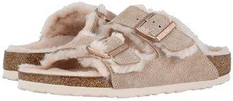 Birkenstock Arizona Shearling (Nude/Nude Suede/Shearling) Women's Shoes