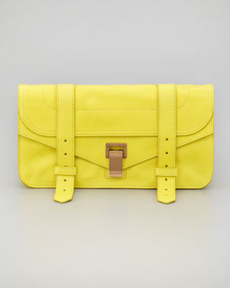 Proenza Schouler PS1 Pouchette Clutch Bag, Sunshine