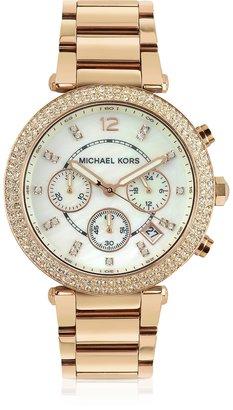 Michael Kors Glitz-Top Chronograph Watch