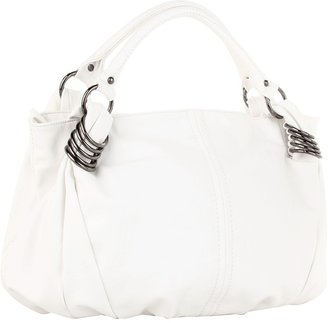Kooba V Couture by Linked 1 Hobo (White) - Bags and Luggage