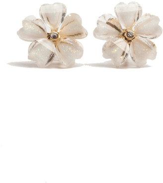 The Limited Glimmer Flower Stud Earrings