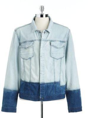 Calvin Klein JEANS Colorblock Denim Jacket