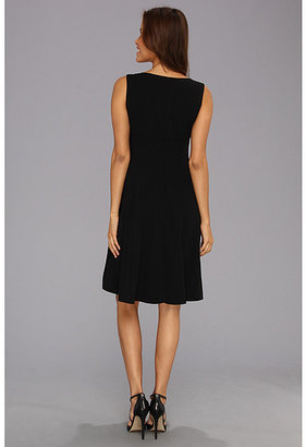 Anne Klein Double Weave Sleeveless Fit 'N Flair