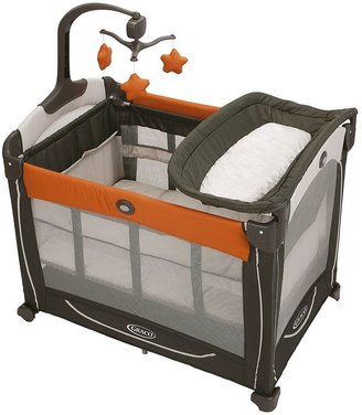 Graco pack 'n play element play yard - tangerine