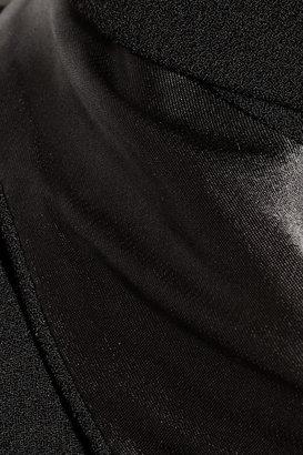 Haider Ackermann Asymmetric crepe gown