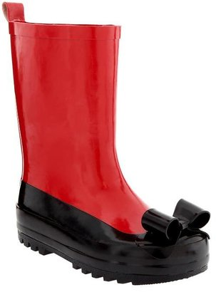 Gap Bow ballet rain boot