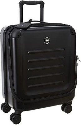Victorinox Spectratm Dual-Access Extra Capacity Carry On (Black) Carry on Luggage