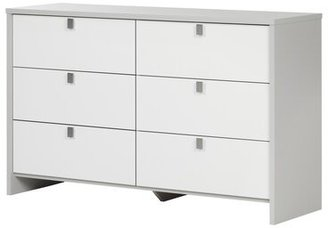 South Shore Cookie 6 Drawer Double Dresser South Shore