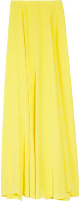 Mason by Michelle Mason Silk crepe de chine maxi skirt