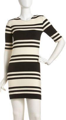 French Connection Jag Striped Knit Dress