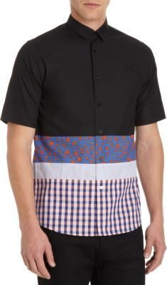 Fred Perry Pieced Bottom Shirt