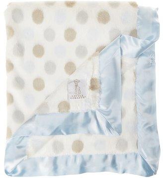 Little Giraffe Luxe Dot Baby Blanket
