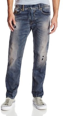 Diesel Men's Waykee-Ne Regular Straight-Leg Jean 0605X