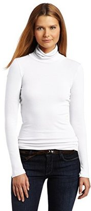 Splendid Women's 1x1 Long-Sleeve Turtleneck Sweater