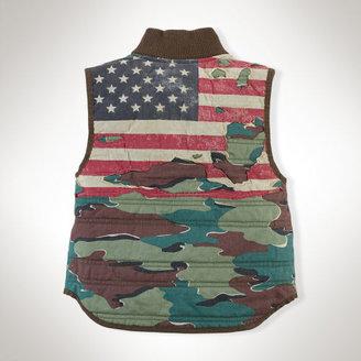 Ralph Lauren Camo Cotton Vest