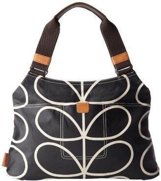 Orla Kiely Linear Stem Classic Shoulder Bag