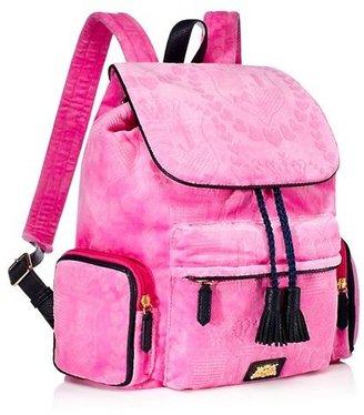 Juicy Couture Embossed Velour Billie Backpack