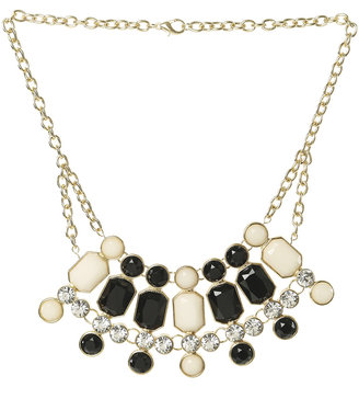 Arden B Multi Stone Statement Necklace
