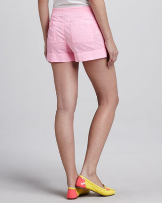 C&C California Relaxed Twill Shorts, Pink