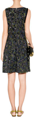 Marc by Marc Jacobs General Navy-Multi Embroidered Cotton Dress