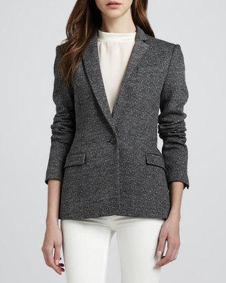 Theory Dancey Tweed Blazer