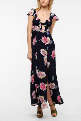 Urban Outfitters Reformed By The Reformation Flora & Fauna Maxi Dress