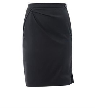 Vivienne Westwood Diagonal pleat pencil skirt