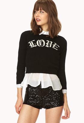 Forever 21 Prep School Love Sweater