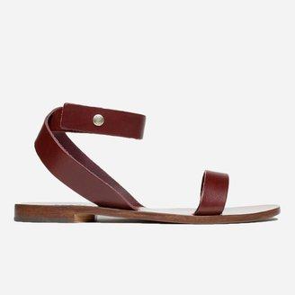 Everlane The Italian Ankle-Wrap Sandal