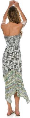O'Neill Mercury Strapless Maxi Dress