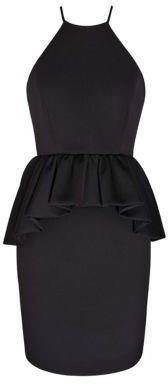 Ali Ro Sleeveless Peplum Dress