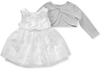 Sweet Heart Rose Baby Set, Baby Girls 2-Piece Cardigan and Special Occasion Dress