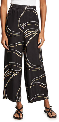 Lafayette 148 New York Riverside Pull-On Ankle Pant